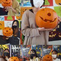 LIFE Jr. College 20205 Halloween Decorations - Okinawa, Japan