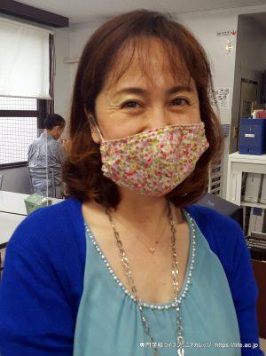 Say Hello to Chisato-sensei | 沖縄の 専門学校ライフジュニアカレッジ LIFE Jr. College