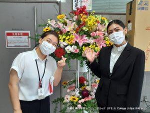 沖縄専門学校ライフジュニアカレッジ 入学式 2021 Entrance Ceremony LIFE Jr. College Okinawa - Preparation Teacher Student Volunteer