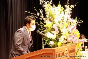 LIFE Jr. College 2021 Graduation Ceremony students speech International 2