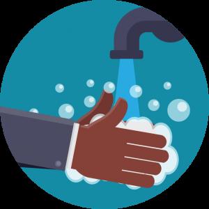 LIFE Jr. College Coronavirus prevention - wash hands